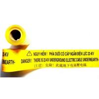 Băng cảnh báo cáp điện 220KV