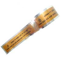 Băng cảnh báo cáp ngầm điện lực bằng màng kim loại 15cm