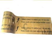 Băng cảnh báo cáp ngầm điện lực bằng màng kim loại
