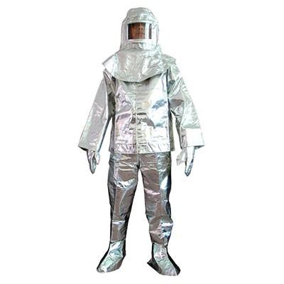 Bộ quần áo tráng nhôm chịu nhiệt QAF200