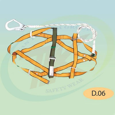 Dây an toàn toàn thân một móc lớn D06