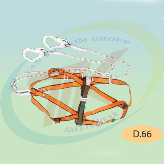 Dây đai toàn thân 2 móc khóa lớn D66