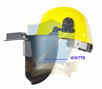 Mũ bảo hộ kết hợp kính hàn WH770
